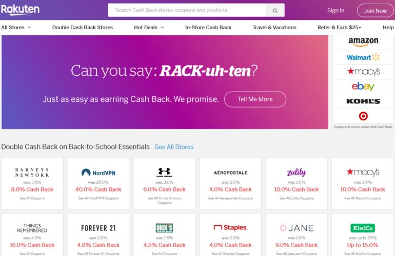 Rakuten cashback review